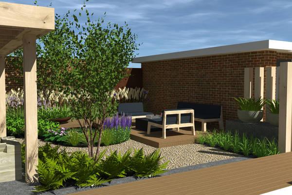 Tuinontwerpen 3d hoveniersbedrijf den haag wassenaar for 3d tuin ontwerpen