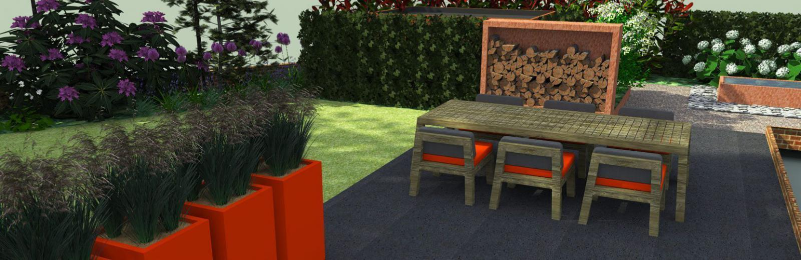 Your garden in 3D design